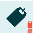 Tag icon isolated vector image