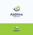 Additive logo vector image