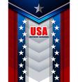 american backgrounds modern design vector image
