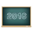 blackboard education 2016 vector image