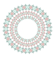 Lace decorative frame vector image