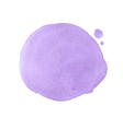 abstract violet watercolor background vector image