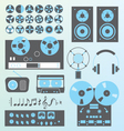 Retro Recording vector image