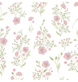 Small flower pattern Vintage floral seamless vector image vector image