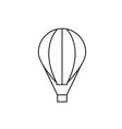 Balloon icon outline vector image