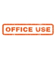 Office Use Rubber Stamp vector image