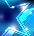 shiny star background design vector image vector image