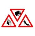 Joke sign vector image