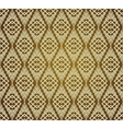 Seamless Brown Retro Pattern Background vector image vector image