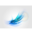 abstract blue light shape vector image