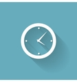 Modern Flat Time Management Icon for Web and vector image