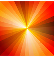 Red Hot Light Ray Abstract Background vector image