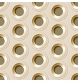 seamless pattern with metal holes vector image