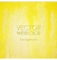 Abstract Yellow Blurred Background vector image