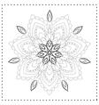 Beaautiful card vector image