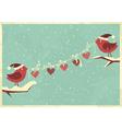valentine card 5 vector image