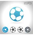 sports icon set vector image