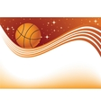 basketball design element vector image