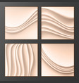 wavy silk abstract background abstract vector image
