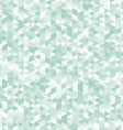 Green triangles abstract geometric background vector image