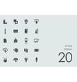 Set of design icons vector image