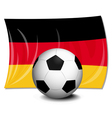 German Soccer vector image