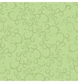 Abstract seamless background with curls vector image vector image