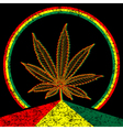 Cannabis-Marijuana-background vector image