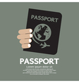 Passport vector image