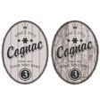 cognac labels vector image