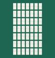 domino flat style design - vector image