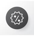 sale badge icon symbol premium quality isolated vector image