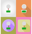sport flat icons 34 vector image