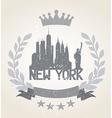 New York City Icon vector image