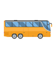 Travel Bus vector image