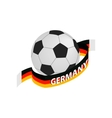 Football team germany isometric 3d icon vector image