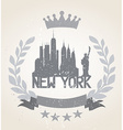New York City Icon vector image