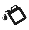 oil tank galon drop icon vector image