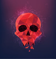 Skull preview vector image