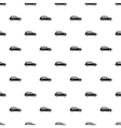 London black cab pattern simple style vector image