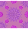 Seamless pattern with circle ornament vector image