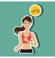 Healthy habits design vector image