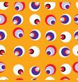 seamless retro circle background vector image