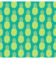 Pineapple background Pineapple seamless pattern vector image