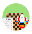 strategy start business vector image