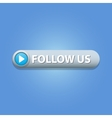 Follow Us Button vector image