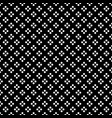 white dot in diamond shape on black background vector image