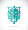 image of a bear head design vector image vector image