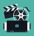 Film Movie Icons vector image