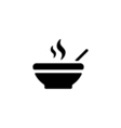 Soup Icon Flat vector image